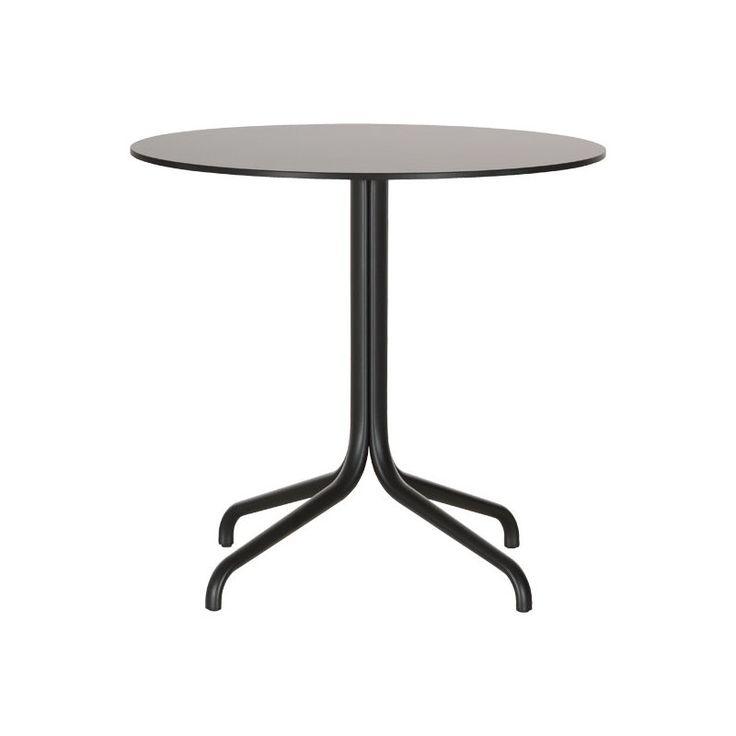 Vitra Belleville pöytä, pyöreä, musta