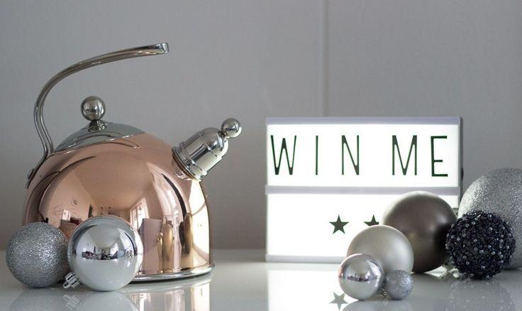 Gewinnspiel 1. Advent - Kupferner Teekessel von Bredemeijer