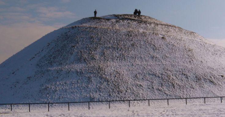Krakus Mound in Pdgorze district, Krakow, Poland. One of the four mounds in Krakow