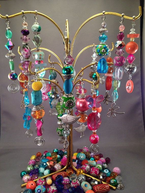 Original beaded ceiling fan pulls direct to the public! Each one is a one of a kind.