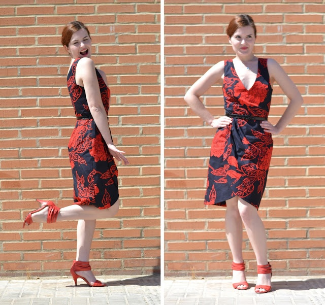 mad men challenge joan holloway red dress