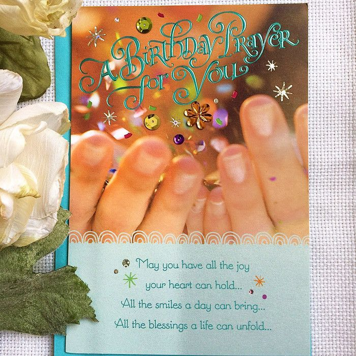 A Birthday Prayer for You
