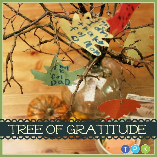 Tree of Gratitude by Katie Myers of Bonbon Break --- this is an incredible family activity for the month of November. I just LOVE it.