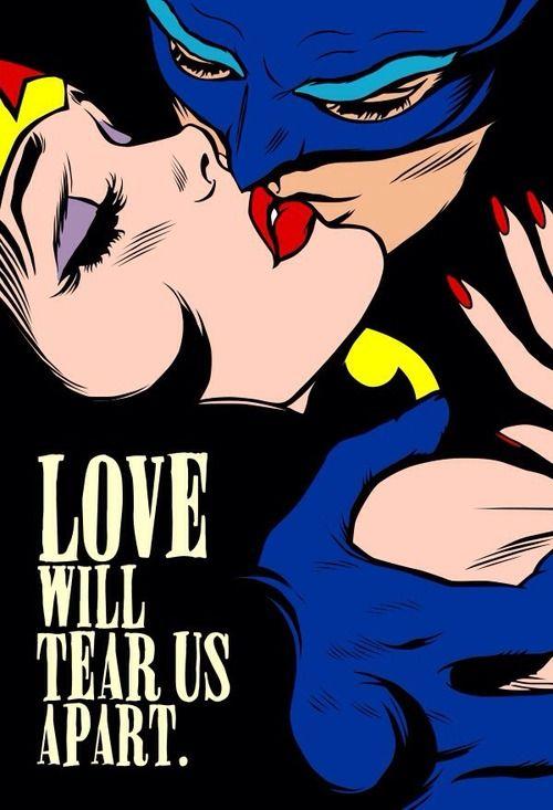 Love Vigilantes Canvas Print by Butcher Billy