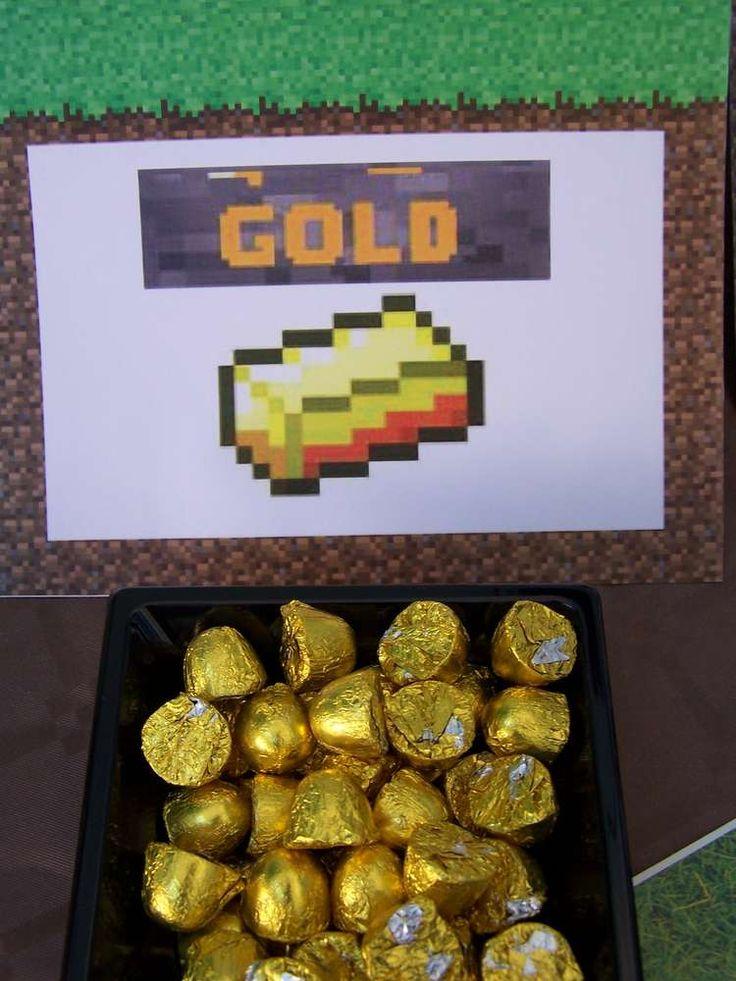Minecraft Birthday Party Birthday Party Ideas | Photo 60 of 71 | Catch My Party