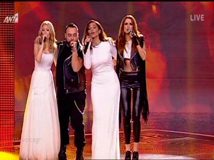 The Voice Of Greece - 4o Live / Δεσποινα Βανδη και η Ομαδα της [Χανω Εσε...