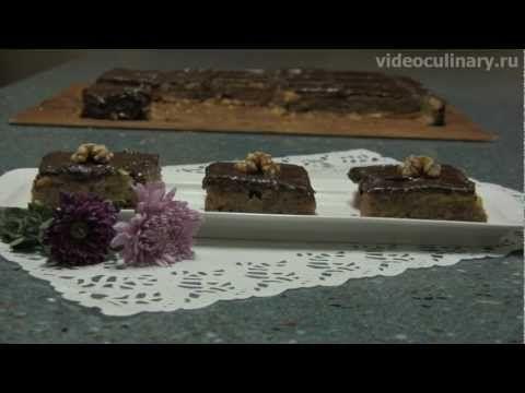 Ореховый куб – рецепт пирога с орехами от Видео кулинарии