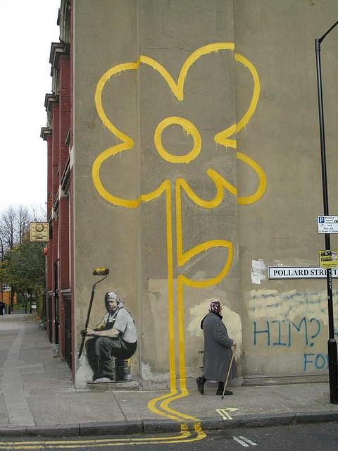 London street art ~ bansky