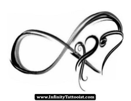 infinity tattoo initials 01 - http://infinitytattooist.com/infinity-tattoo-initials-01/