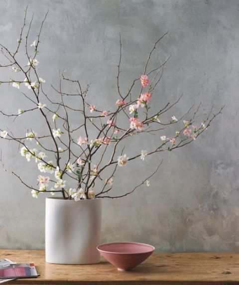 30 Delicate Cherry Blossom Décor Ideas For Spring | DigsDigs