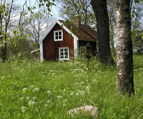 Very Finnish style cottage