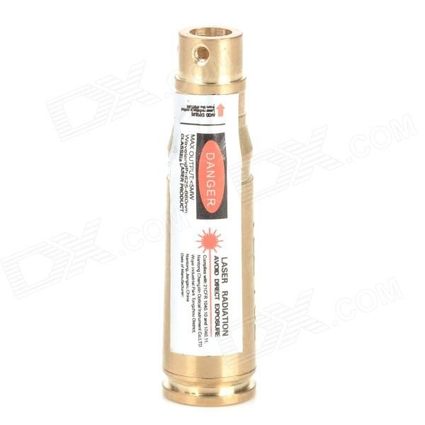 Brand: N/A; Model: N/A; Quantity: 1 piece(s) per pack; Color: Golden; Material: Brass; Suitable Gun Type: Suitable for gun of 7.62mm caliber; Specification: Wavelength: 625~660nm; Power: http://j.mp/VIKGt7