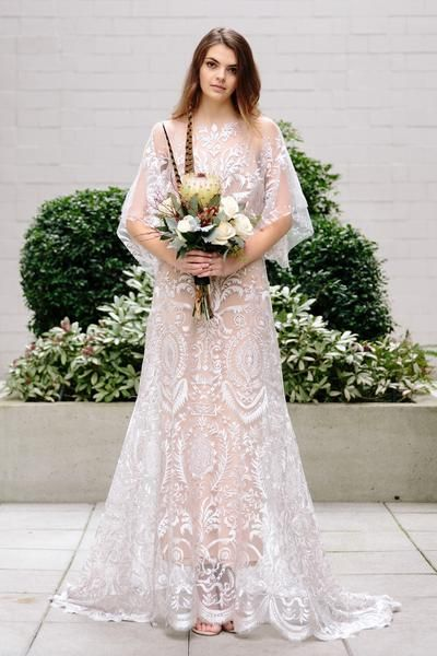 The Elle Gown by Vancouver bridal designer Elika In Love