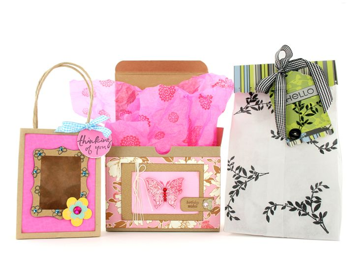 homemade gift bags and boxes - Bing Images