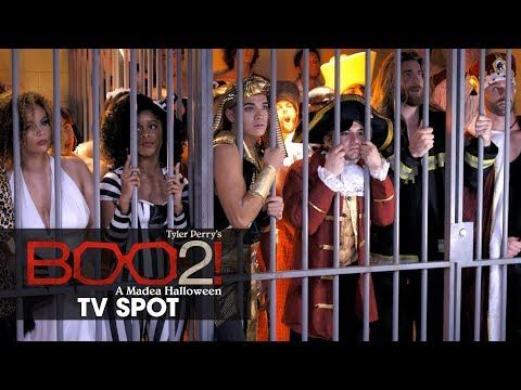 Boo 2! A Madea Halloween (2017 Movie) Official TV Spot – 'Meet The Cast' -- TYLER PERRY'S BOO 2! A MADEA HALLOWEEN – In theaters October 20, 2017. Starring Cassi Davis, Patrice Lovely, Yousef Erakat, Lexy Panterra, Andre Hall, Diamond White, Brock O'Hurn, Tito Ortiz, and Tyler Perry. --Madea and the gang are back for this hilarious sequel... | Lionsgate Movies