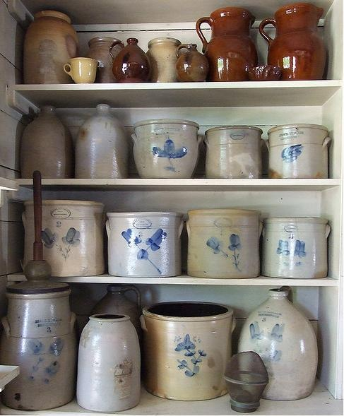 I have several old crocks and jugs that have been handed down through the family...