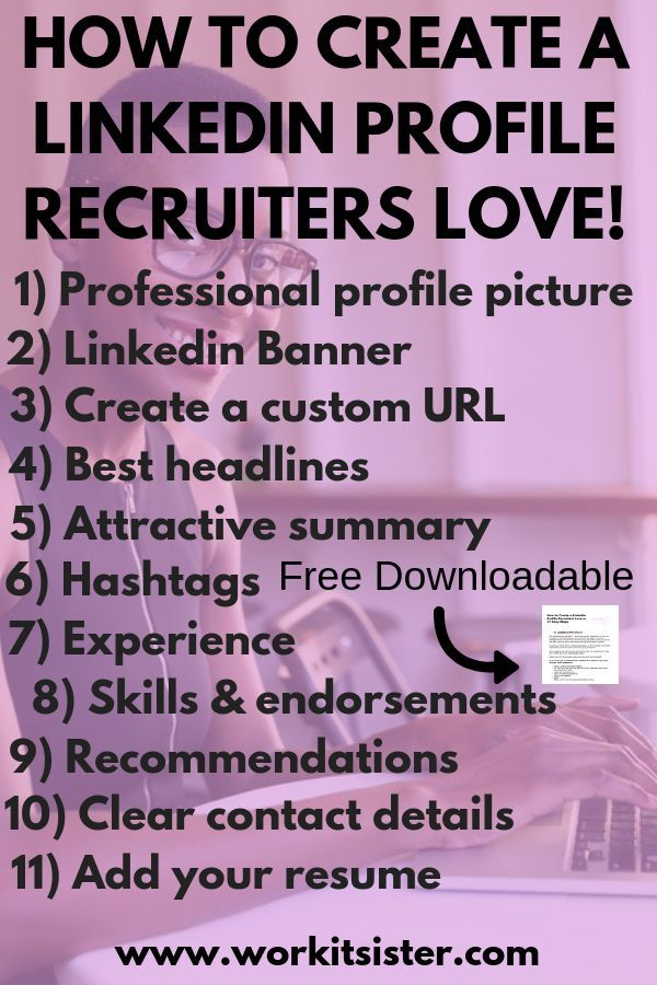 How To Create A Linkedin Profile Recruiters Love In 11 Easy Steps