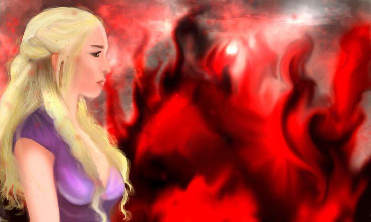 Daenerys by AnaisMononoke.deviantart.com on @DeviantArt
