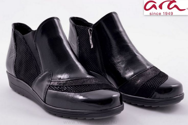 Mai napi Ara bokacipő ajánlatunk kényelmes és elegáns! Természetesen az Ara lábbelikre jellemző minőség garantált 😉  http://valentinacipo.hu/ara/noi/fekete/bokacipo/151795141  #Ara #aracipő #arawebshop #Valentinacipőboltok