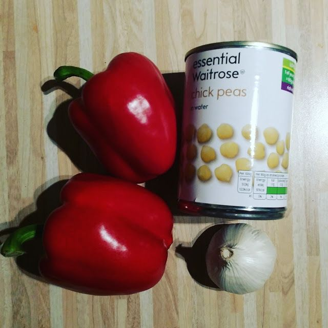 The Slimming Mama: Slimming World Roasted Red Pepper Hummus