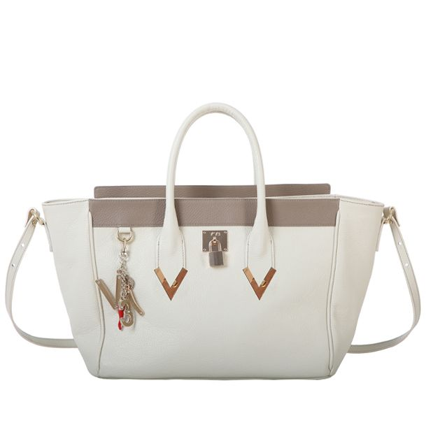 #V73 Elisir Ivory #Bag #Shop online: https://www.v73.us/pelli-pregiate/elisir Spring Summer Collection Leather bagH: 33 CM W: 37 CM D: 15 CM