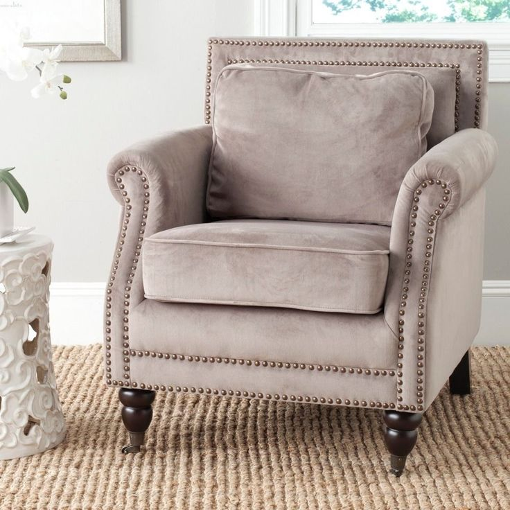 Safavieh 'Karsen' Mushroom Taupe Club Chair by Safavieh. Apartment FurnitureLiving  Room ... - 22 Best Images About Chairs From Overstock On Pinterest Taupe