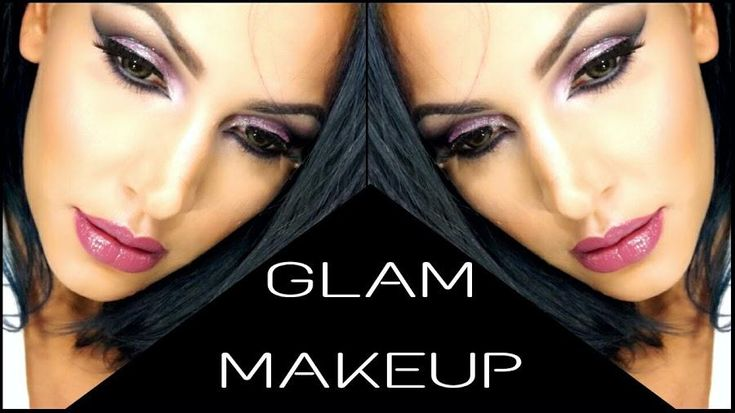 Maquillaje glamuroso en tonos morados paso a paso
