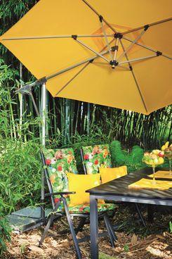 Doppler Sunline Pendel Sonnenschirm, gelb #Garten #Gartenschirm #Schirm #Terrasse #Balkon