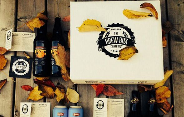 The Brew Box Co. Delivers a Variety of Craft Beers to Your Doorstep #drink #delivery trendhunter.com