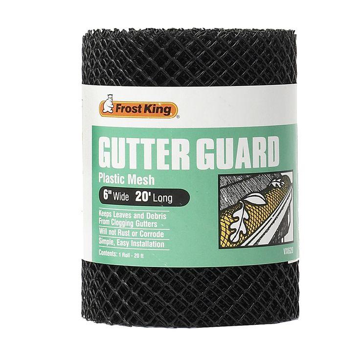 Frost King Plastic Gutter Guard