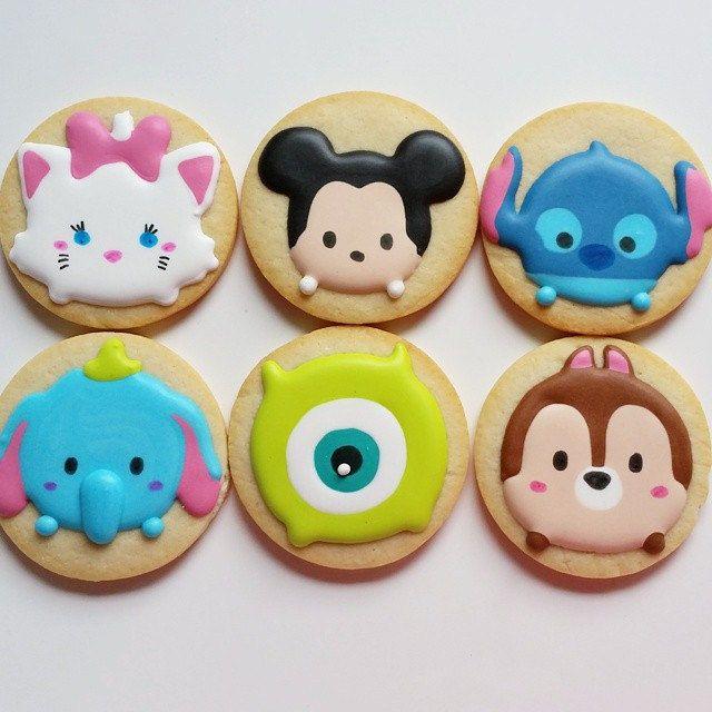 https://flic.kr/p/u2RzkL | Do your kids play Tsum Tsum? #tsumtsum #disney #decoratedcookies #customcookies