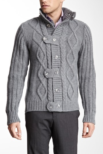 Chunky Cable Knit Sweater.