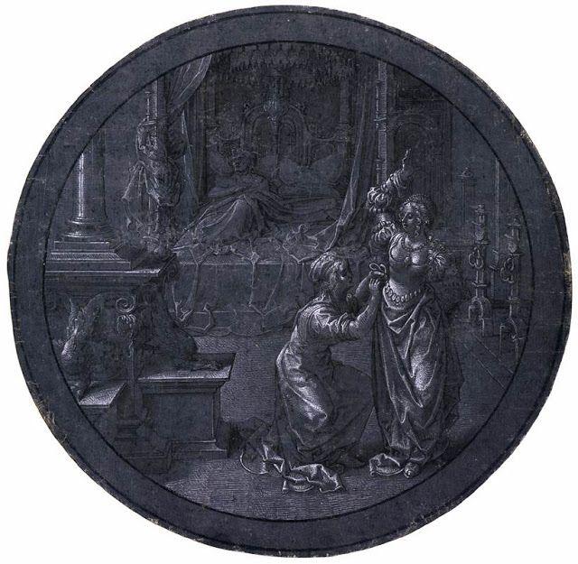 Σχεδιασμός για διακοσμητική ροζέτα (1520ς)