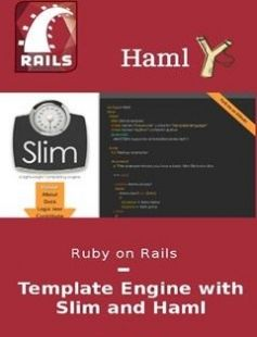Ruby on Rails: Template Engine with Slim and Haml: Learn how to use properly the two most famous template engine. free download by Thiago T. S. Neves with BooksBob. Fast and free eBooks download.  The post Ruby on Rails: Template Engine with Slim and Haml: Learn how to use properly the two most famous template engine. Free Download appeared first on Booksbob.com.