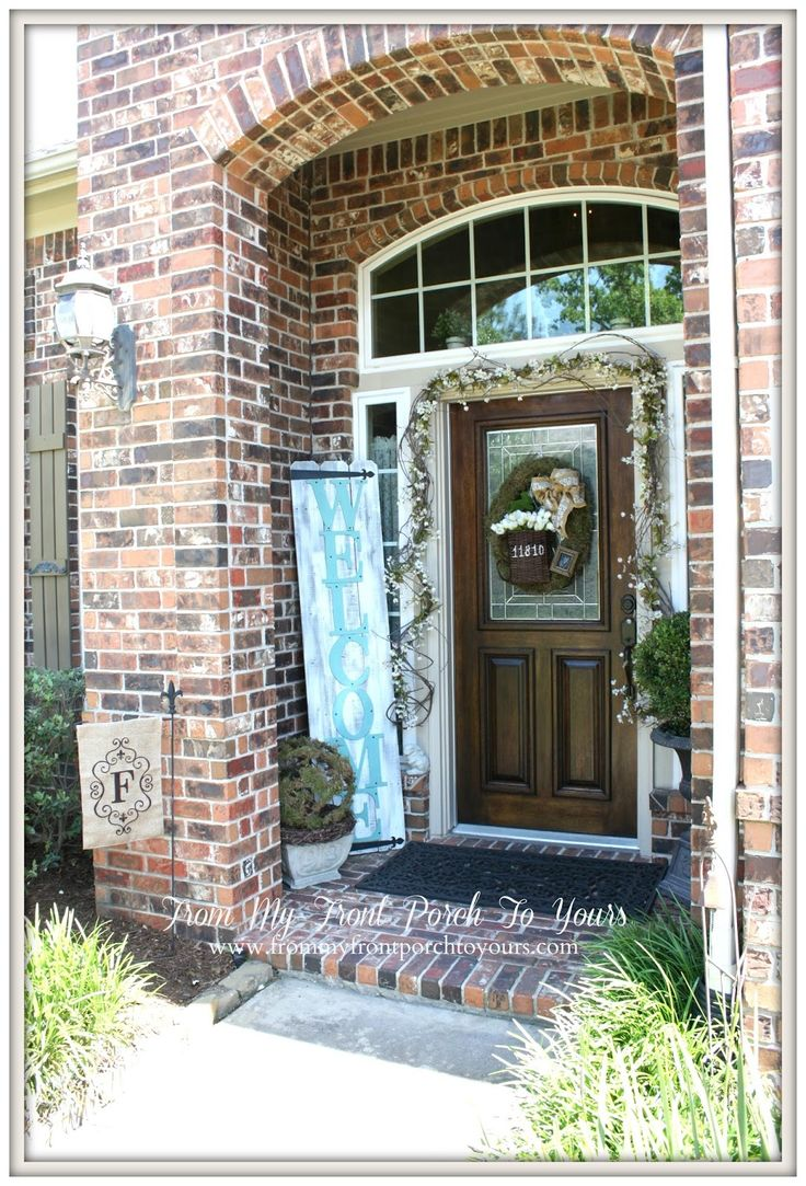 Best Spring Porch Decorating Ideas Images On Pinterest Porch
