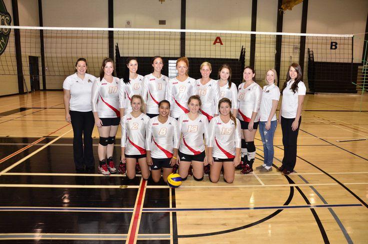 2013-2014 Women's Varsity Volleyball team