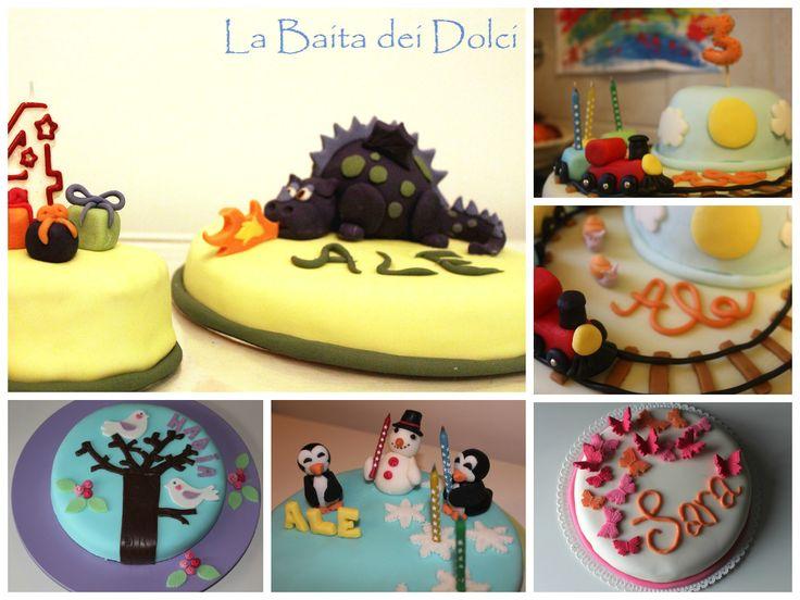 Torte base adatte per essere decorate con la pdz