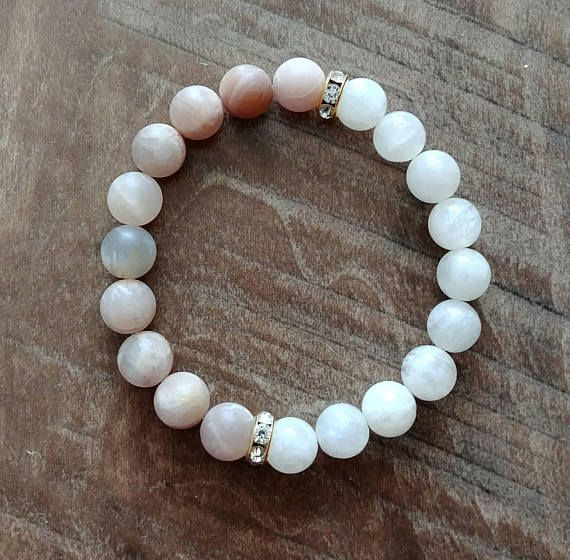 Check out this item in my Etsy shop https://www.etsy.com/ca/listing/546035177/sunstone-moonstone-healing-bracelet