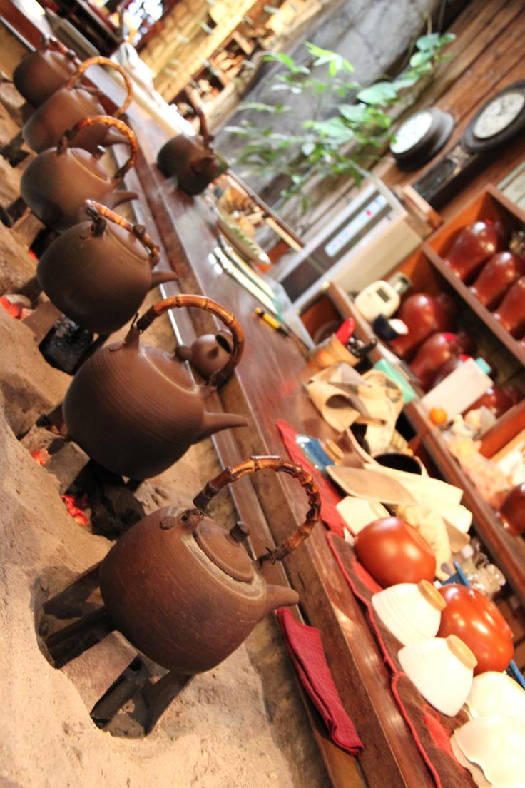 Old-Fashioned Tea House in Jiufen, Taiwan