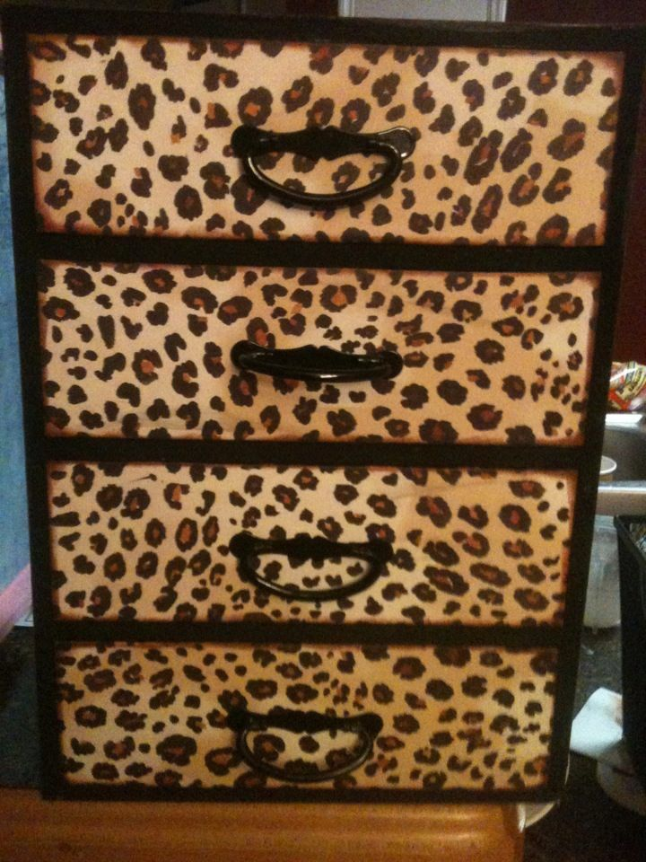 Cheetah Jewelry Box by jennifersjunque on Etsy, $28.50