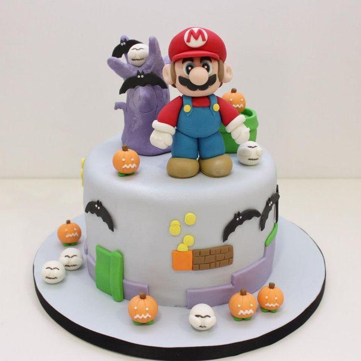 pastel Mario Bros Halloween
