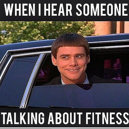 When I hear someone talking about fitness!  9Round in Northville, MI is a 30 minute full body workout with no class times and a trainer with you every step of the way! Visit www.9round.com/fitness/Northville-Michigan or call (734) 420-4909 if you want to learn more!