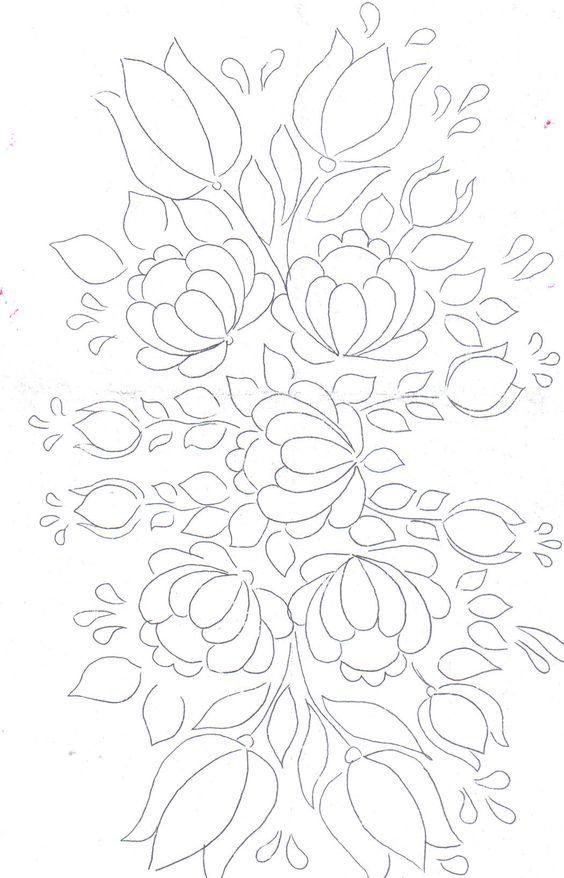 rosemaling moldes - hello, coloring book. | Patterns: Art ...