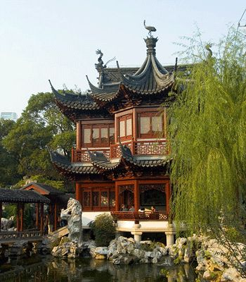 Feng shui front yard landscaping and yard landscaping on for Chinese feng shui house