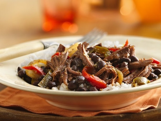 Slow Cooker Cuban Flank Steak   Yummy!   Pinterest