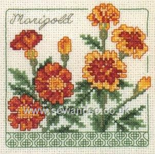 Shop online for Marigold Cross Stitch Kit at sewandso.co.uk. Browse our great range of cross stitch and needlecraft products, in stock, with great prices and fast delivery.