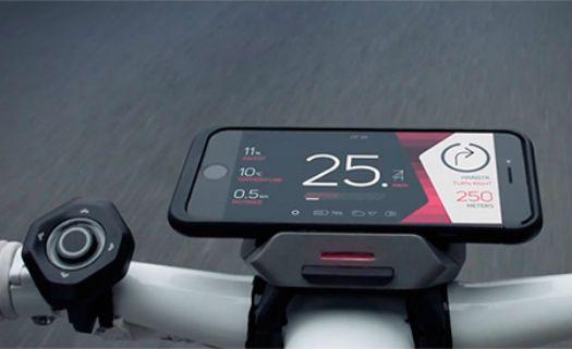 """Acessório promete transformar qualquer bike em """"smart"""""""