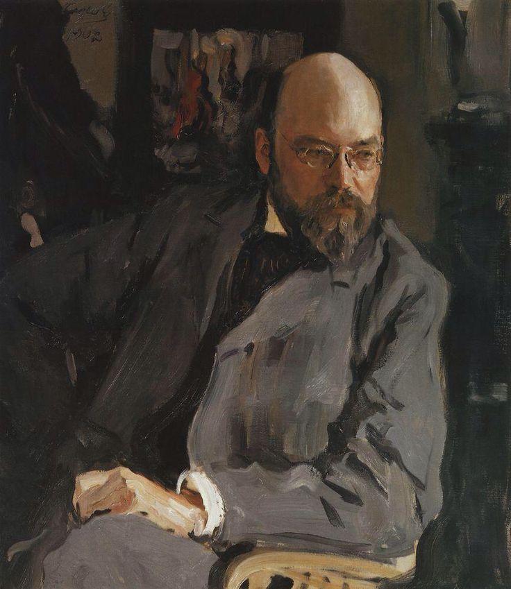 Валентин Серов. Портрет художника И.С.Остроухова. 1902