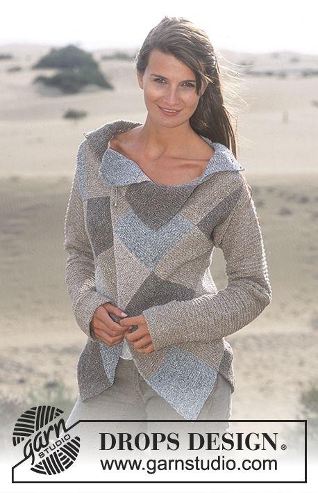 Free Pattern Drops Design in Silke Tweed