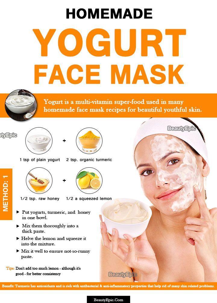 Yogurt Face Mask: Benefits + 8 DIY Recipes #CharcoalMaskBeforeAndAfter
